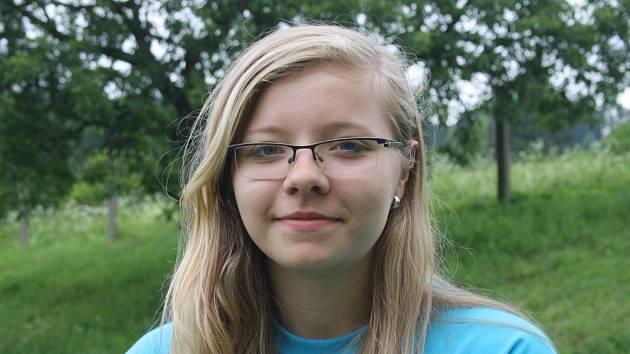 Tereza Košárková po prázdninách nastoupí do prvního ročníku na Masarykově gymnáziu ve Vsetíně.