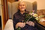 Růžena Malinová se v neděli 17. května dožila 103 let. Narodila se v roce 1917 a je nejstarší obyvatelkou Valašského Meziříčí.