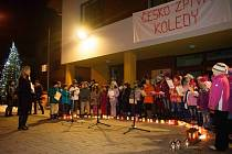 Česko zpívá koledy v Lidečku.