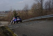 Valašská rally shakedown