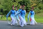 49. Liptálské slavnosti. Tanečníci z čínského souboru Regina Dance Group