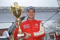 První místo v Rallysprint sérii vybojoval na valašsku Egon Smékal