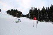 V minulých dnech Razulu vyhledal pro trénink mladý nadějný lyžař Daniel Paulus, žhavý adept na mistrovství světa ve Svatém Mořici.