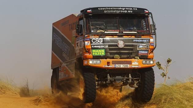 Rally Dakar - ilustrační foto