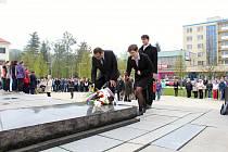 Ve čtvrtek 4. května 2017 si ve Vsetíně připomenuli 72. výročí osvobození města od fašistů. Pietní akt se uskutečnil v 11 hodin u památníku Osvobození na náměstí Svobody.