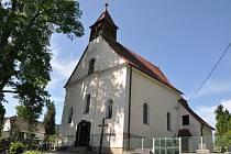 Zděchovský kostel Proměnění Páně