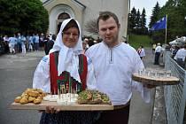 Návštěva hodnotící komise Vesnice roku v Ratiboři v roce 2016. Ilustrační foto.