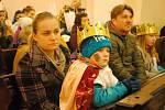 Skupinky Tří králů vyrazily v sobotu 11. ledna 2020 do místní části Juřinka u Valašského Meziříčí.