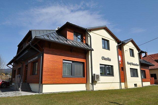 Nový Hrozenkov - Rekonstruovaný dům Charity Svaté rodiny Nový Hrozenkov.