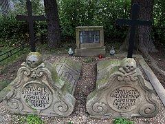 Portášské hroby ve Valašské Bystřici.