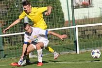 Ve 2. kole poháru FAČR Velké Karlovice (žluté dresy) prohrály se Zlínem 1:6.