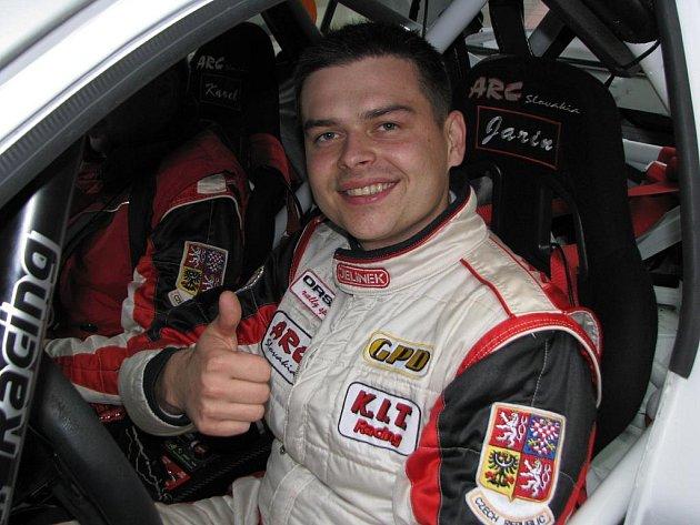 Mistr ve sprintrally Jaroslav Orsák.