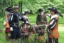Děti měly na festivalu svůj den. Se svými rodiči mohly zhlédnout rekonstrukci historické bitvy.