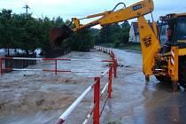 24. června v podvečer zasáhla severní část Zlínského kraje silná průtrž mračen, která způsobila lokální záplavy mezi Valašským Meziříčím a Rožnovem pod Radhoštěm.