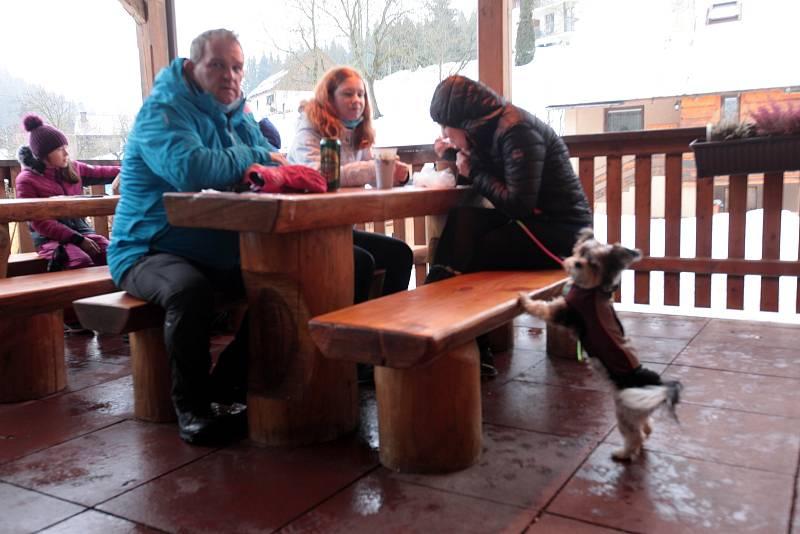 Zimní víkend na Razule ve Velkých Karlovicích - 6. 2. 2021