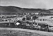 Vsetínské sklárny v roce 1926