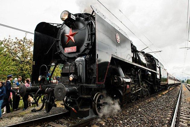 Oslavy 80. výročí železniční trati Horní Lideč - Púchov; 3. září 2017
