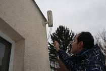 Kamera snímající noční nebe je zapnutá pouze přes noc.