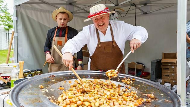 Garden Food Festival v Rožnově pod Radhoštěm v roce 2019.