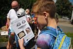 Valašskomeziříčská hvězdárna uspořádala v sobotu 24. července 2021 rodinný program zaměřený na Slunce, vodu i vznik života na zemi.
