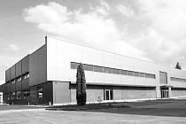 Výrobní hala a vývojové centrum LISS, a. s. Rožnov pod Radhoštěm.