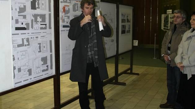 Návrhy na změnu vsetínského náměstí jsou ke zhlédnutí v kině Vatra.