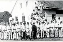 HASIČI -25. výročí založení hasičského sboru, rok 1922.