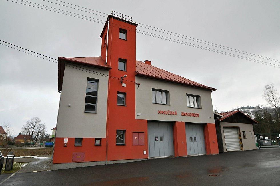 Liptál - hasičská zbrojnice.