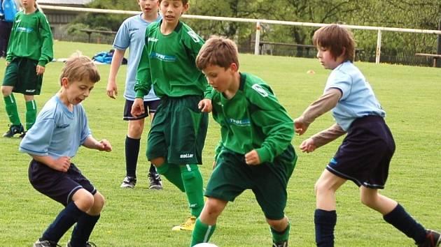Mládežnický fotbal. Ilustrační foto