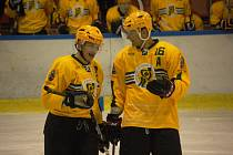 Druholigoví hokejisté Vsetína ve 33. kole překvapivě rozdávali body, prohráli na ledě poslední Karviné.