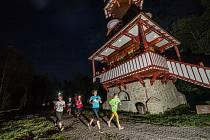 Noční běh v Rožnově pod Radhoštěm 2019