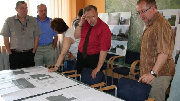 Studie nového náměstí ve Vsetíně