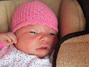 Volková Viktorie z Rožnova pod Radhoštěm, narodila se 13.6.2016 s mírami 3380g/48cm