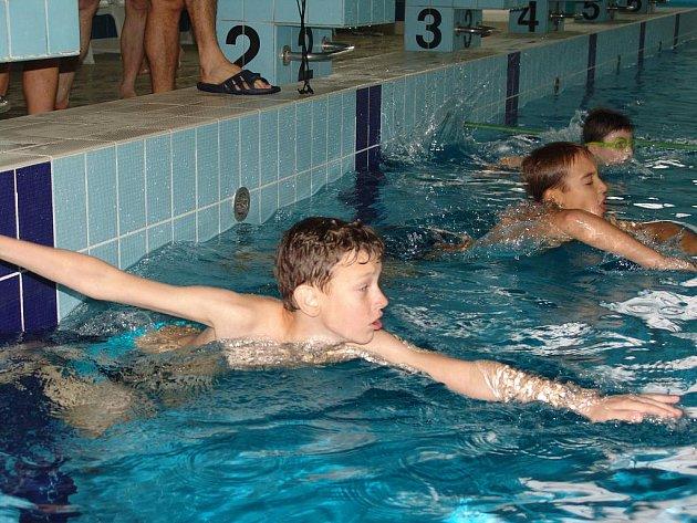 Ve Vsetíně se konala Plavecká soutěž měst.