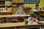 Žáci první třídy Základní školy v Huslenkách - 25. 5. 2020