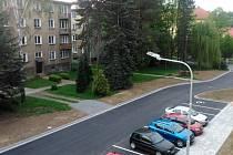 Sídliště Křižná ve Valašském Meziříčí. Ilustrační foto.