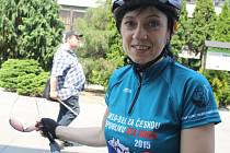 V úterý před polednem přijeli do Vsetína účastníci 13. ročníku Cyklo-běhu za Českou republiku bez drog.