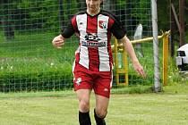 Jan Nerušil je talentovaným fotbalistou Podlesí. Foto archiv hráče