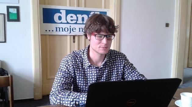 ON-LINE: S Tomášem Pajonkem, kandidát Strany svobodných občanů