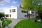 Vizualizace budoucího výzkumného, vzdělávacího a inovačního centra, které má vzniknout v areálu Hvězdárny Valašské Meziříčí.