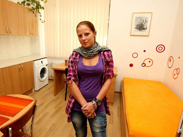 Veronika Beňová ve svém novém startovacím bytě