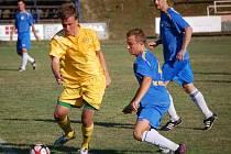 Ve duelu krajského přeboru Vizovice – Velké Karlovice (žluté dresy) vyhráli hosté 4:2.