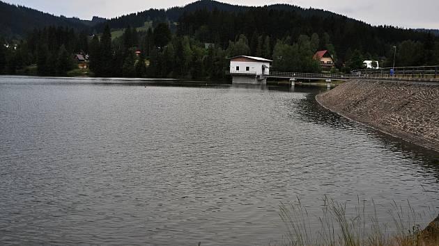 Horní Bečva - přehrada