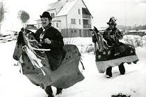 Víkend zasvětí obyvatelé mnohých valašských vesnic masopustnímu veselí. Takto se svátek slavil na Valašsku dřív.
