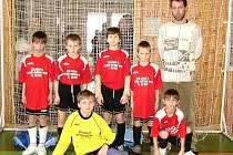Trenér Jaroň z Choryně přivezl talentované fotbalisty, kteří v boji o třetí příčku podlehli Pasekám Zlín.