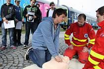 Do Vsetína zavítal na dvoudenní návštěvu preventivní vlak. V něm se děti mimo jiné doví o možném nebezpečí na železnici a seznámí se s činností jednotek IZS.