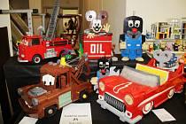 Výstava kostiček lego