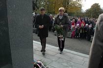 Sedmadevadesáté výročí vzniku samostatné Československé republiky si v úterý (27. 10.) připomněli ve Vsetíně.
