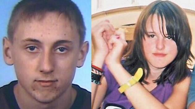Pohřešovaný devatenáctiletý Lubomír Haša ze Zámrsk a pohřešovaná šestnáctiletá Sabina Řídká z Valašského Meziříčí.