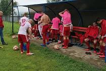 Fotbalisté Valašského Meziříčí hráli s Bílovcem na tréninkovém hřišti
